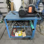 8 in. Bench Top Diamond Wheel Cut-Off Saw; with Cart