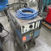 Miller Dialarc HF-P AC/DC Gas Tungsten Arc or Shield Metal Arc Welding Power Source, S/N: