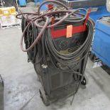 Lincoln-Electric TM-300/300 Arc Welder, S/N: AC-429630; Input: 230/460 V, 90/45 A, 60 Hz, 1 Ph,