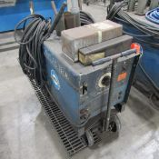Miller 250-Amp Dialarc 250 AC/DC Constant Current AC/DC Arc Welding Power Source, S/N: JE778655;