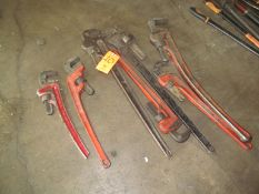 Lot - (7) Pipe Wrenches