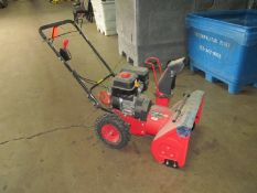 "Powersmart 22 in. Model DB7659H-22"" Cleaning Width Two-Stage Snow Thrower, S/N: N/A (2019); with"