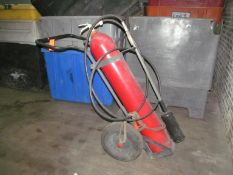 Ansul Portable Industrial Fire Extinguisher; with Cart
