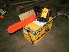 Salem Master 20 in. Model 6220G Gas Powered Chain Saw (New in Box)