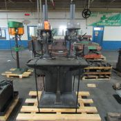 Delta 2-Head Production Drill; with 17 in. Throat each Head, Production Table (Ref. #: 418)