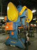 Minster 75-Ton Cap. No. 7 O.B.I. Back-Geared Punch Press, S/N: 7D-SS-25917; with 4 in. Stroke, 21