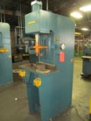 Hannifin 8-Ton Cap. Model F 21-41-M Hydraulic Press, S/N: E 37373-4; Rated at 3,000-PSI, Palm