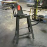 Dake No. 0 Arbor Press; with 8 in. Stroke, 5 in. Throat, Stand