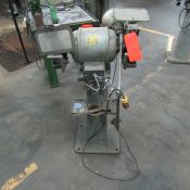 Valley Heavy Duty Double End Grinder, S/N: 195872; with Pedestal (Ref. #: 536)