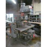Bridgeport 4-HP Series II Variable Speed Vertical Milling Machine, S/N: 2096; with 11 in. x 58 in.
