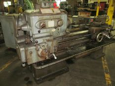 Lodge & Shipley 14 in. Geared Head Engine Lathe, S/N: 42897; 14 in. x 40 in. (approx.), Threading,