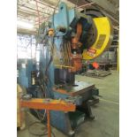 Minster 60-Ton Cap. No. 6 O.B.I. Punch Press, S/N: N/A; with Air Clutch and Brake, Hart Production