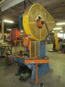 Minster 60-Ton Cap. No. 6 O.B.I. Punch Press, S/N: 6-8294; with 4 in. Stroke, 3 in. Slide
