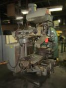 Bridgeport 4-HP Series II Variable Speed Vertical Milling Machine; with 11 in. x 58 in. T-Slotted
