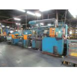 Bruderer Tandem Precision Leveling Line, with Two-Part Leveling and Turning Section