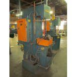 Hannifin Model F-56273 Hydraulic Press, S/N: F-53273; Palm Buttons (Ref. #: 1827)