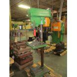 Clausing 15 in. Model 1763 Floor Type Drill Press, S/N: 524183; (Ref. #: 431)