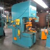 Denison 50-Ton Cap. Model NA50C92JIC SPEC. HydrOILic Multipress Hydraulic Press, S/N: 15386; Shop #: