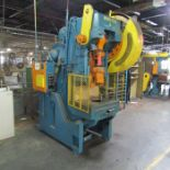 Minster 60-Ton Cap. No. 6 O.B.I. Punch Press, S/N: 6-11530; with 4 in. Stroke, 3 in. Slide