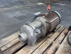 30-HP Stainless Steel Centrifuge Pump