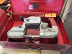 Milwaukee Model 6230 Electric Portable Band Saw; with Case