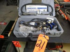 Demel Multi Pro 395 Electric Rotary Tool; 5,000 - 35,000 RPM, with Related Accessories and Case