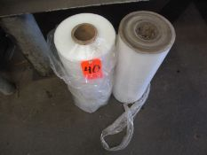 Lot - (2) Rolls of Stretch Wrap