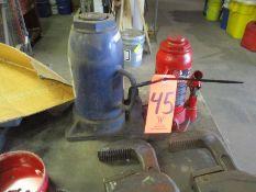 Lot - (2) Bottle Jacks