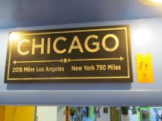 Sign, Chicago: Los Angeles - New York