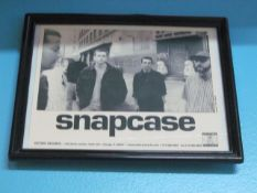 Lot - (5) Photos, Former Band Clients: Snapcase, Thursday, Glasseater, Buried Alive & River City