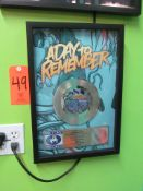 """RIAA Certified Gold Record for the Single """"All I Want"""" by A Day To Remember, to Commemorate Sales of"""