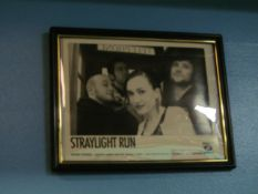Lot - (8) Photos, Former Band Clients: Straylight Run, Count The Stars, The Strike, Junior