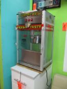 Great Northern Topstar Table Top Popcorn Machine; with Cabinet