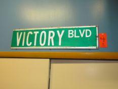 Victory Blvd. Street Sign