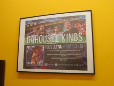Lot - (6) Song Release Posters from: Carousel Kings, Emmure, Feed Her to the Sharks, The Tossers,