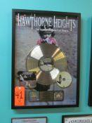"""RIAA Certified Gold Record for the Album """"The Silence in Black and White"""" by Hawthorne Heights, to"""