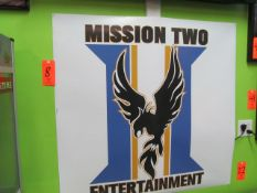 Lot - (5) Posters: Mission Two Entertainment, (3) A Day To Remember, Thursday