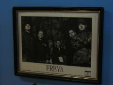 Lot - (6) Photos, Former Band Clients: Freya, Bayside, Catch 22, Between The Buried and Me,