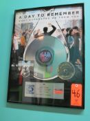 """Gold Record for the Album, """"What Separates Me From You"""" by A Day To Remember, Presented by BPI The"""