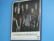 Lot - (5) Photos, Former Band Clients: Voodoo Glow Skulls, Cause For Alarm, Shelter, Electric