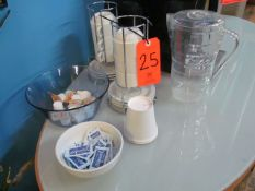 Lot - Coffee Cups, Saucers, Pitcher, Et.