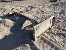 Custom Fabricated 84 in. Skid Steer Drag Attachment