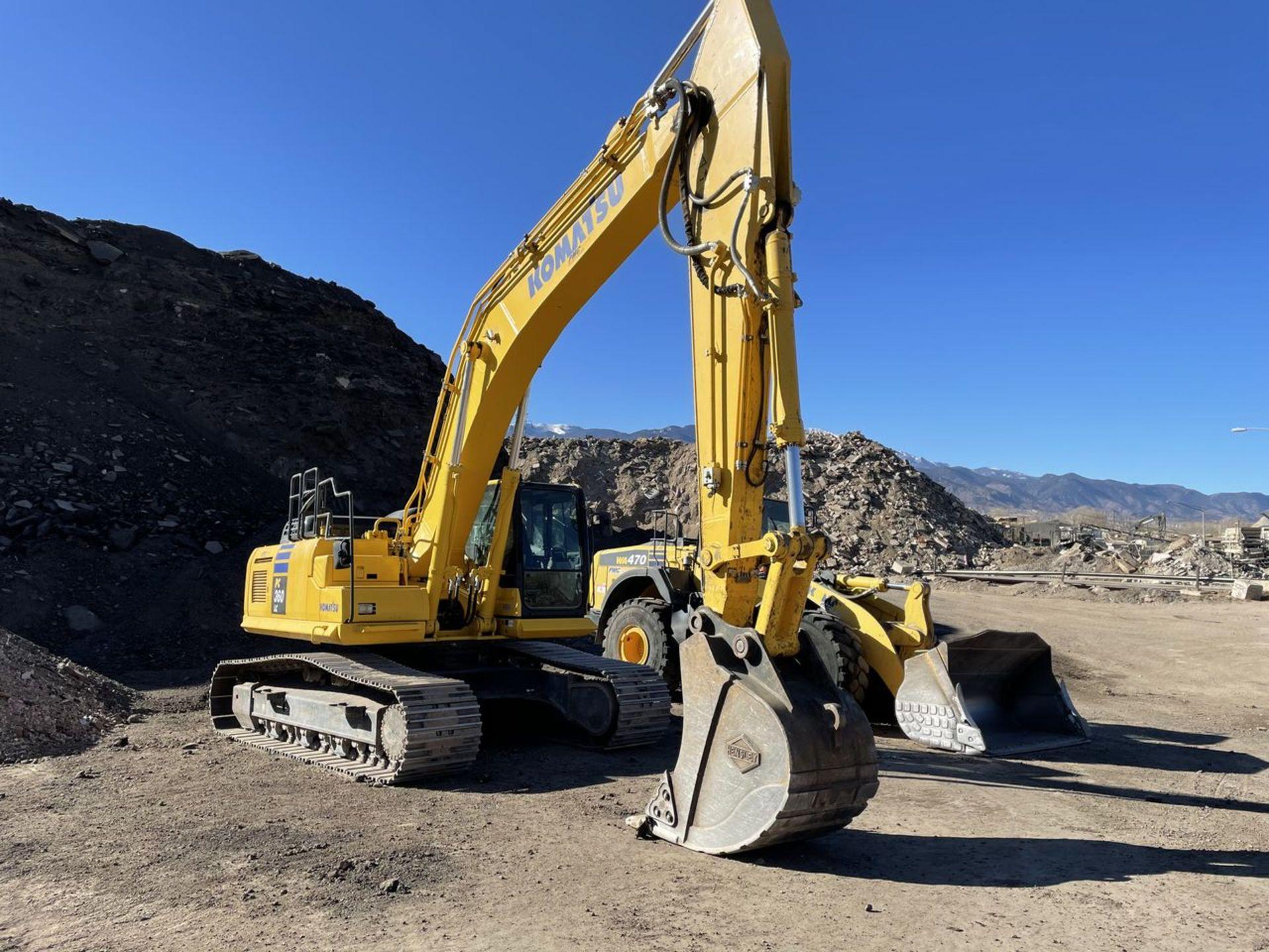 2018 Komatsu PC360LC-11 Hydraulic Crawler Excavator, S/N: A36863, PIN: KMTPC256CJWA36863; with 2,883 - Image 2 of 19