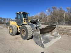 John Deere 744J Wheel Loader, PIN: DW744JX614358 (2007); with 7,339 Hours (at Time of