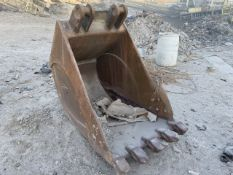 44 in. Excavator Bucket