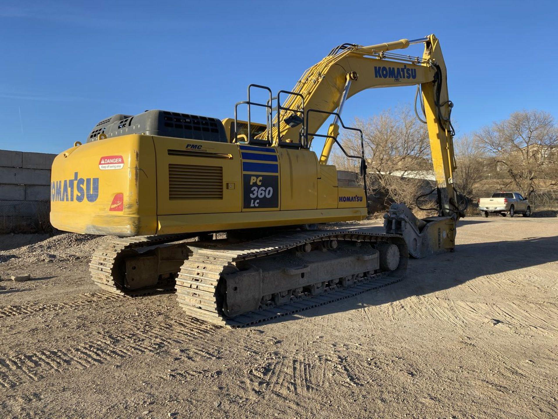2018 Komatsu PC360LC-11 Hydraulic Crawler Excavator, S/N: A36863, PIN: KMTPC256CJWA36863; with 2,883 - Image 13 of 19