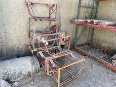 Lot - (8) Barrel Stands