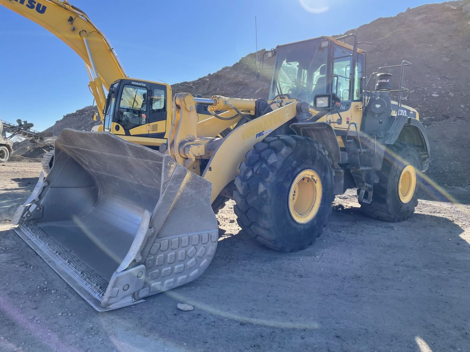 2016 Komatsu WA470-8 Wheel Loader, S/N: A49107, PIN: KMTWA129PGNA49107; with 6,146 Hours (at Time of - Image 2 of 23