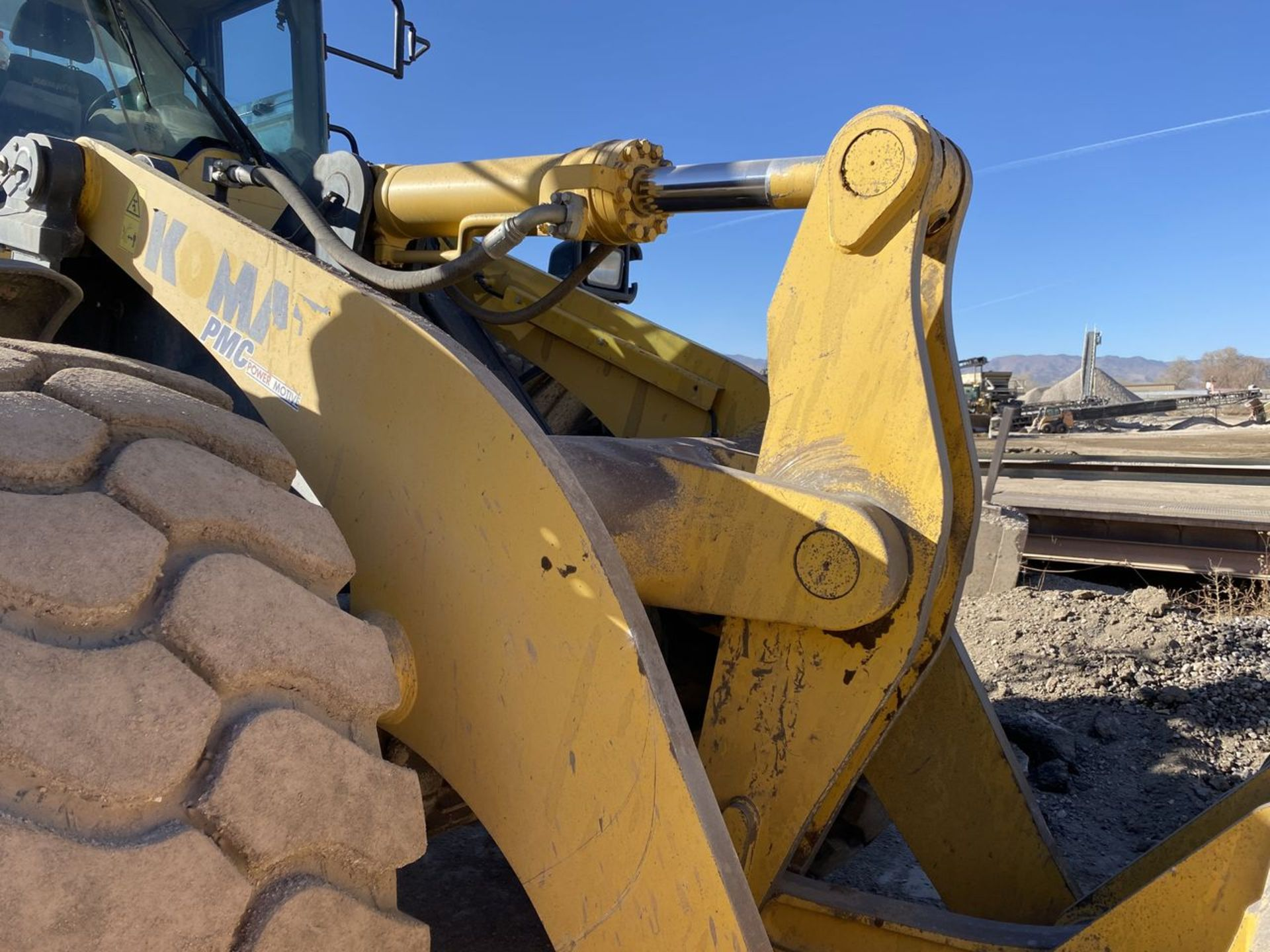 2016 Komatsu WA470-8 Wheel Loader, S/N: A49107, PIN: KMTWA129PGNA49107; with 6,146 Hours (at Time of - Image 10 of 23