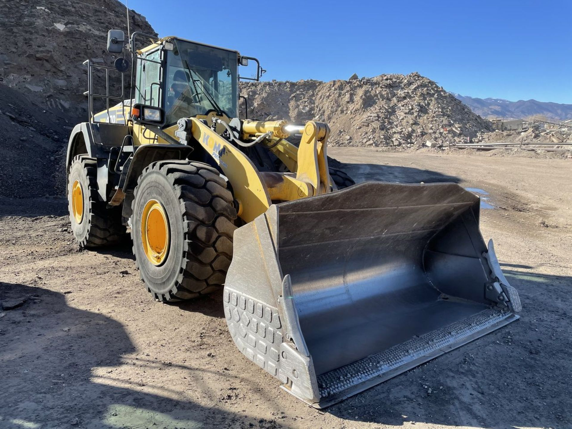 2016 Komatsu WA470-8 Wheel Loader, S/N: A49107, PIN: KMTWA129PGNA49107; with 6,146 Hours (at Time of - Image 3 of 23